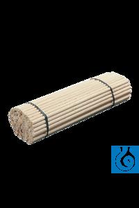 neoLab® Einmal-Rührstäbe aus Holz, 250 x 6 mm Ø, 100 St./Pack Einmal-Rührstäbe zum Einsatz bei...
