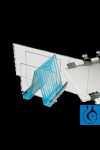 neoLab Electrophoresis plate stand Elektrophoreseplatten-Ständer aus Stahl mit...