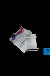 neoLab® Elektrophoresekammer Midi Large horizontal für Gelgröße 151 x 170 mm + 1...