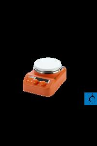 Sunlab® Digitaler Mini Magnetrührer mit Heizung bis 280°C, 1500 UpM