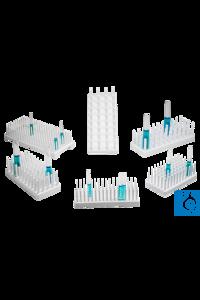 neoLab® Reagenzglasgestell 3 x 8 Plätze Platz für viele Reagenzgläser! Reagenzgläser, Flaschen...