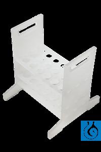 neoLab® Gestell für lange Aräometer, 178 mm hoch neoLab® Rack for long hydrometers, 178 mm high