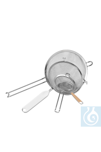 neoLab® Sieb rostfrei, 180 mm Dchm. neoLab® Sieve, stainless, 180 mm Ø