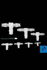 neoLab® T-Stücke Mikro, für 7,5-10 mm Innen-Ø, 10 Stck./Pack Spezial-T-Verbinder auch für kleine...