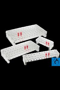 neoLab® Acrylgestell für 2 x 12 Eppendorf-Reaktionsgefäße 1,5 ml Verklebt und verschraubt, Modell...