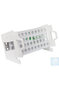 neoLab® Schräggestell für Reagenzgläser 16-20 mm Ø Zur einfachen und schnellen Vorbereitung z.B....