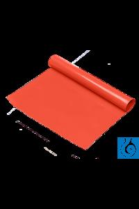 neoLab® Rutschfeste Folie rot, 40 x 200 cm, 1 mm dick Die Folie haftet fest auf dem Labortisch....