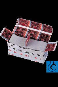 neoLab® Wägekarten, 1 kg, 90 x 50 mm Spielkarten mit glatter Oberfläche. Geeignet für Laborzwecke...