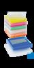 neoLab PCR-Aufbewahrungsbox, gelb Aufbewahrungsrack und Kryobox für PCR-Tubes und -Strips 0,2 ml....