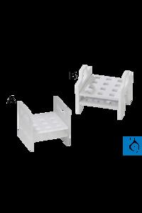 neoLab® Gestell für Küvetten 10 mm, 3 x 4 Plätze, Modell B Küvettengestell aus PP für einen...
