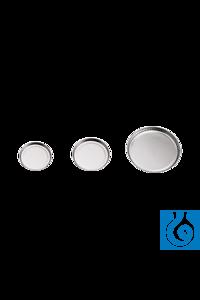 neoLab® Alu-Wägeschalen, 125 mm Ø, 3,3 g, 100 Stck./Pack Die Proben werden darin gut horizontal...