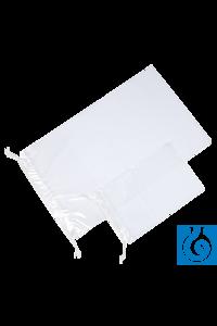 neoLab® Kordelzug-Beutel (PE), transparent, 15 x 22 cm, 100 Stck./Pack Transparente Beutel aus...