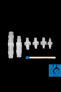 neoLab® Verbinder für Innen-Ø 1,5-2,5/2,0-3,5 mm, 10 Stck./Pack Schlauchverbinder, gerade, auch...
