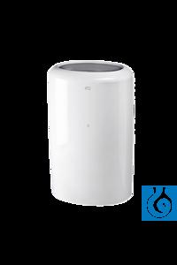 neoLab® Abfallbox Kunststoff, 50 l Abfallbehälter mit 50 l...