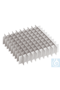 neoLab® Kryo-Boxen-Rastereinsatz, 6 x 6, f. Reaktionsgef. 5 ml...