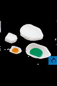 neoLab® Einmal-Wägeschalen (PS), m. Ausguss, 56 x 41 x 8 mm, 250 Stck./Pack Tropfenförmige...
