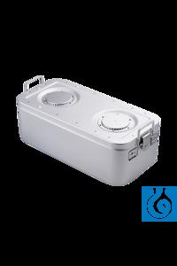 neoLab® Autoklavierwanne, 60 x 30 x 26 cm, tiefgezogen, rostfrei Behälter aus Edelstahl zur...