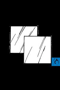 Ahlstrom Sheet filter paper 58 x 58 cm, plain, 3m/N, 100 pcs/pack