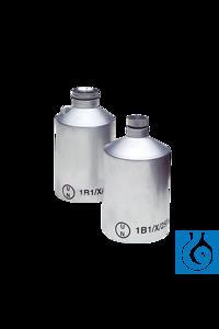 Aluminiumflasche 250 ml, UN-Zulassung, Hals 16 mm