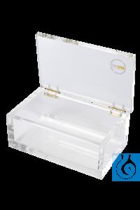 neoLab® Beta-Sicherheitsbox für Einsätze, Acrylglas 10 mm stark Beta-Sicherheitsbox mit...