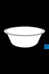 ecoLab Edelstahlschüssel, 0,7 l, 16 cm Ø, 6,1 cm hoch ecoLab High-grade steel dishes 0.7 l, 16 cm...