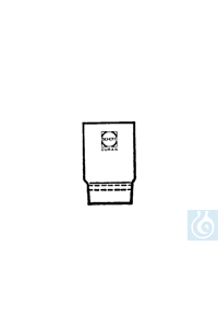 ecoLab  Glas-Filtertiegel 30 mm Ø, 30 ml, Porosität 4, 10 Stck./Pack 30 mm Ø DURAN® Glas