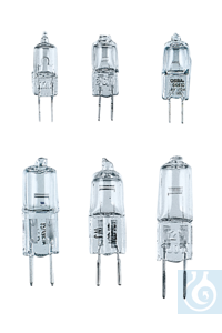neoLab Extra-low voltage halogen bulb G4, 6 V/10 W Light bulbs and halogen bulbs, e.g. for...
