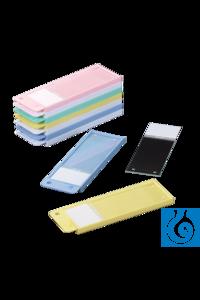 neoLab® Objektträger-Versandbehälter gelb, 50 Stck./Pack neoLab® Microscope slide shipping box...