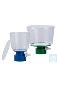 qpore® Bottle-Top-Filter aus PES, steril, 0.45 µm, 500 ml, 24 Stk/Pack qpore® bietet ein...