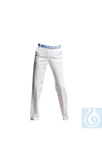 neoLab Occupational pants for women, stretch, white, size 34 White laboratory pants in best...