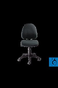 neoLab® Laborstuhl Kunstleder schwarz, Höhenverst. ca. 43-55 cm, mit Rollen neoLab® Laboratory...