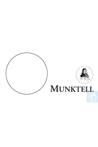 ecoLab Rundfilter qualitativ, Typ 3 hw, 55 mm Ø, 100 St./Pack Munktell Typ 3hw,100 St./Pack