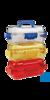 neoLab Sicherheits-Transportbox aus PC, transparent/blau Ideal für den...