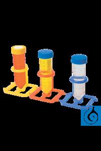 neoLab® Zentrifugenröhrchen-Halter f. 50 ml, 5 Stck./Set 5 zusammensteckbare Halter für 50 ml...