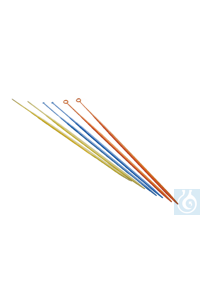 Moonlab® Impfösen 1 µl, steril, blau, 40 x 25 Stk Sterile Einmal-Impfösefür die keimfreie...
