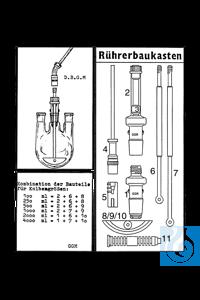 ecoLab Rührbaukasten nach GGM, komplett RührbaukastenRührwerk-Kombination mit elastischer...