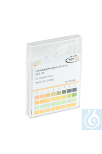 neoLabLine® pH-Teststreifen Die neoLab Universal pH-Indikatorstäbchen eignen...