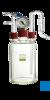 neoLab Vakuum-Sicherheitsflasche mit Levasint-Überzug, komplett Vakuumsicherheitsflasche mit...