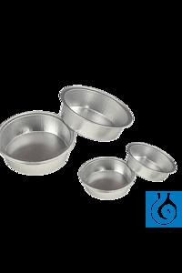 neoLab® Aluschalen mit verstärktem Rand, 28 ml, 100 Stck./Pack Aluminium-Behälter, 50 µm stark,...