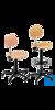 2Artikel ähnlich wie: neoLab Drehstuhl Buche mit Rollen, Sitzhöhenverst. ca. 42-54 cm Komfortable...