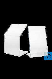neoLab® Beta-Schutzschild Modell I, 60 cm Schutzschild aus 10 mm dickem Acrylglas zur Abschirmung...