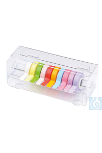 neoTape-Labeling adhesive tapes Rainbow pack, with dispenser Universal labeling tapes in best...