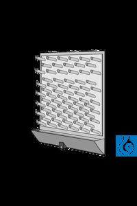 ecoLab Abtropfbrett (PS), 45 x 65 cm (L x H), 72 Stäbe Integrierte, breite...