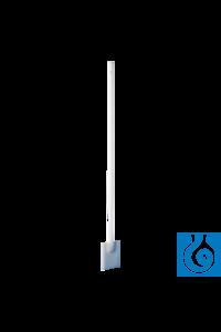 neoLab® Handrührer Paddelform, PE, 91 cm lang Langer Rührstab zum Mischen in großen Gefäßen mit...