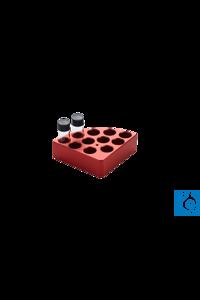 Sunlab® Reaction Block, ¼ quarter pie, 4 openings  Anodized aluminum blocks with different...