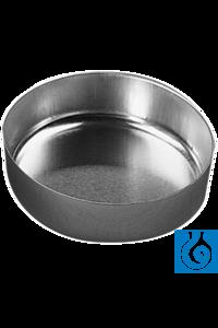 neoLab® Aluschalen glatt, 65 mm Ø, 100 Stck./Pack Runde Aluminium-Einmalschalen mit flachem Boden...