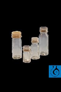 neoLab® Probenfläschchen n. Bijou, mit Alu-Verschluss, 7 ml, 288 Stck./Pack Kultur-Fläschchen aus...