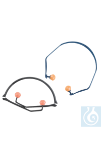 neoLab Hearing protection with head band, foldable Extremely light hearing protection with head...
