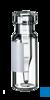 neochrom® Schnappringflaschen ND11, 1,5 ml, Klarglas m. Schriftfeld +...