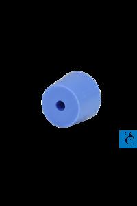 Silikonstopfen mit Bohrung passend für magnetische Filterhalter...